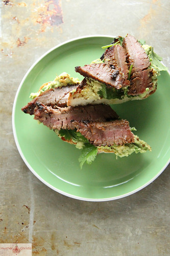 Spicy Steak and Avocado Toast