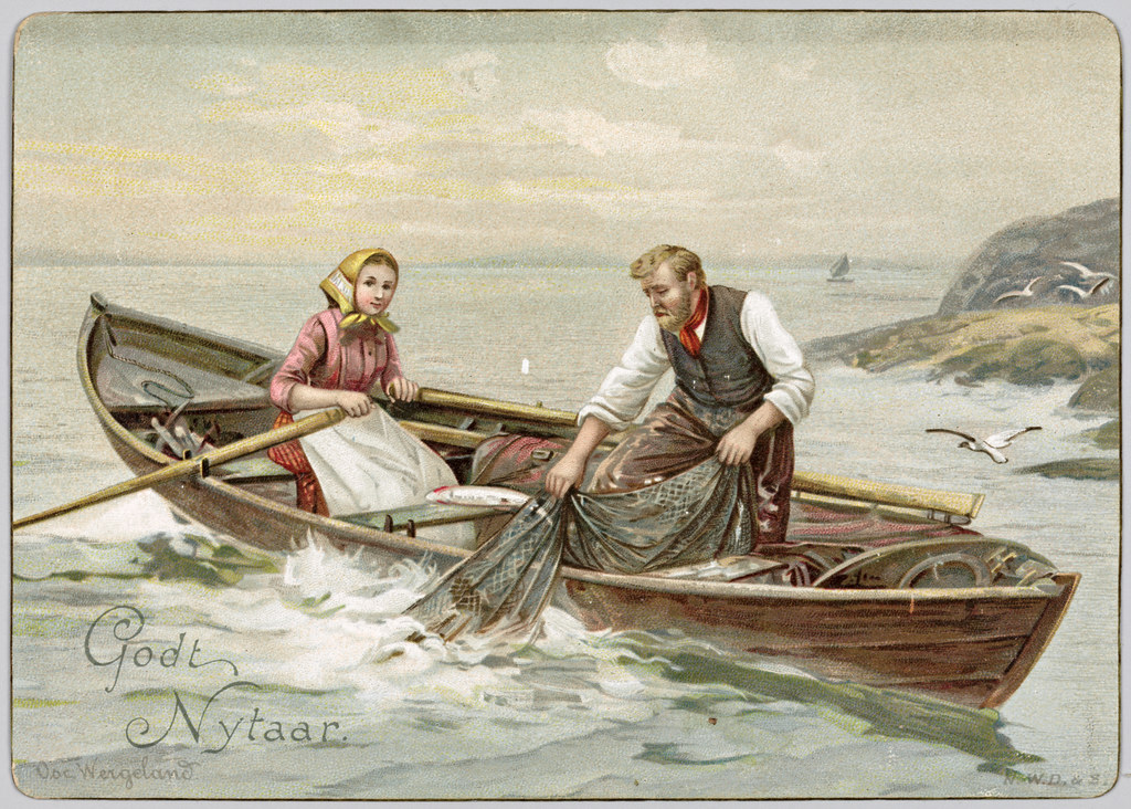 10 Unorthodox Historical Christmas Cards from Norway in 1800s ...