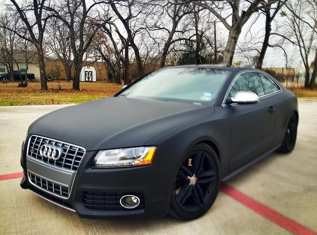 S5 Audi Matte Black Flickr Photo Sharing