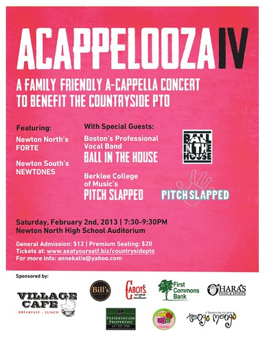 acappelooza Poster