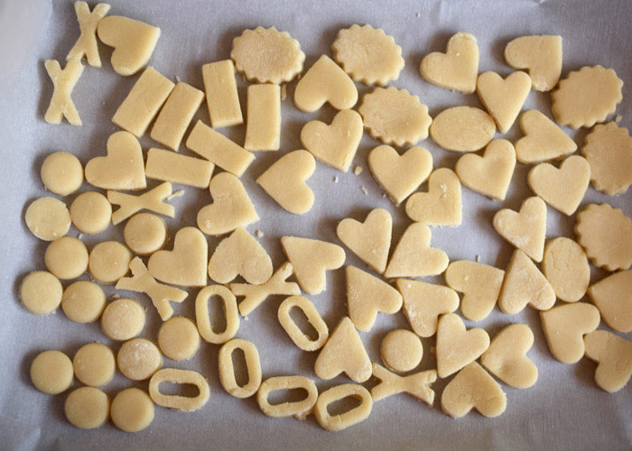 Cookie Dough Shapes