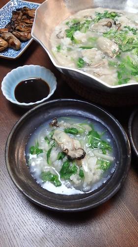 かき雑炊 by nekotano