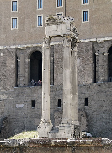 Temple of Vespasian and Titus, Roman Forum, Rome