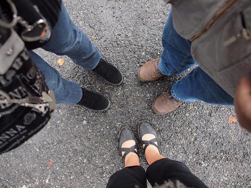 Feet on Fuji-san