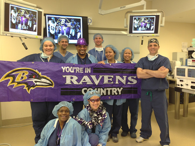 LifeBridge Health Goes Purple for Ravens