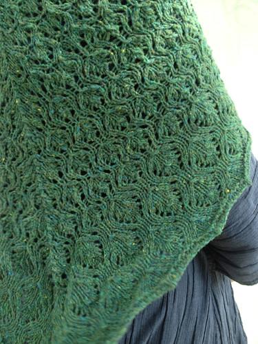 Green shawl 6