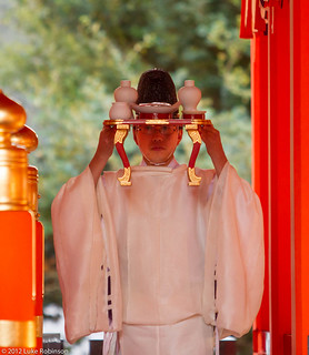 Shinto offering, Fushimi Inari Shrine, Kyoto