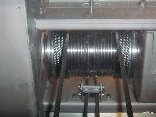 Plaatsen van nieuwe rvs kabels