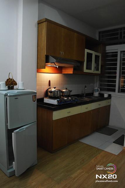 nancy homestay kitchen