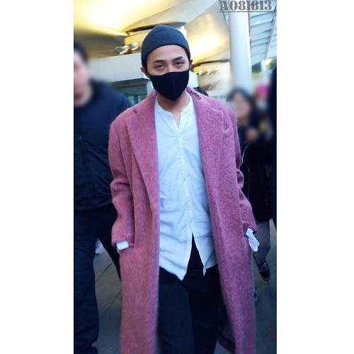 Big Bang - Incheon Airport - 22mar2015 - G-Dragon - a081813 - 02