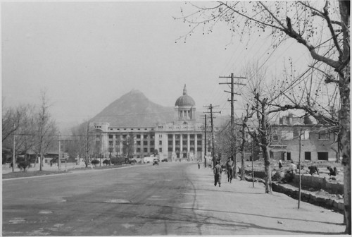 Seoul,1952 Presidential Palace