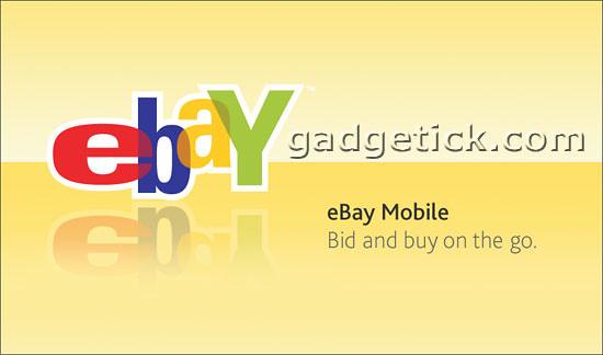 Мобильное приложения ebay для российских пользователей