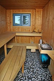 Sauna finlandesa.