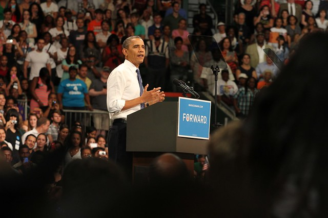 President Obama visits the University of Miami