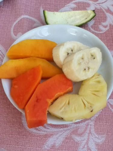 早餐的水果