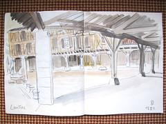 121013 Lautrec, place des couverts - Photo of Guitalens-L'Albarède