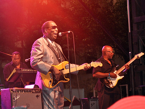 Clarence Carter live at Blues & BBQ Fest 2012