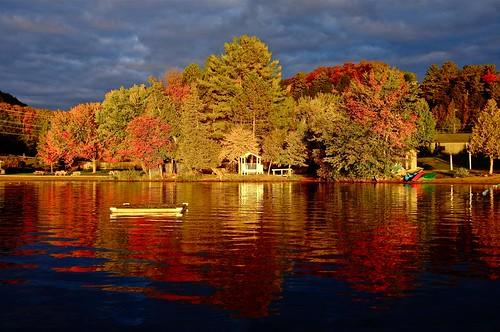 park travel autumn lake ontario canada fall sunrise huntsville fujifilm algonquin muskoka peninsula provincial x100