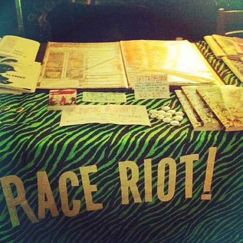 Photo by @inzombia - Part of the Race Riot! Mall at DBA on Oct 7, 2012