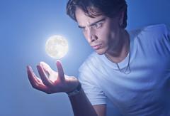 [Free Images] People, Men, Photo Manipulation, Moon, Spanish People ID:201210231600