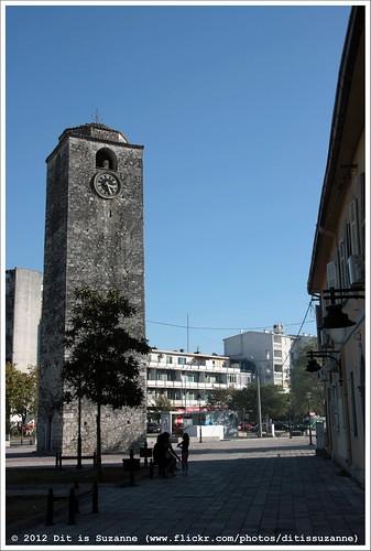 clocktower montenegro crnagora podgorica klokkentoren sahatkula views300 saatkulesi img0798 черногория ©ditissuzanne canoneos40d црнагора подгорица сахаткула sigma18250mm13563hsm 22092012 staravaroš bećirbegosmanagićsquare
