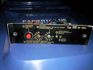 Garagentorantrieb Platine NORMSTAHL Typ SE 40 MHz Perfekt S, SE, 2500, 900, 1200