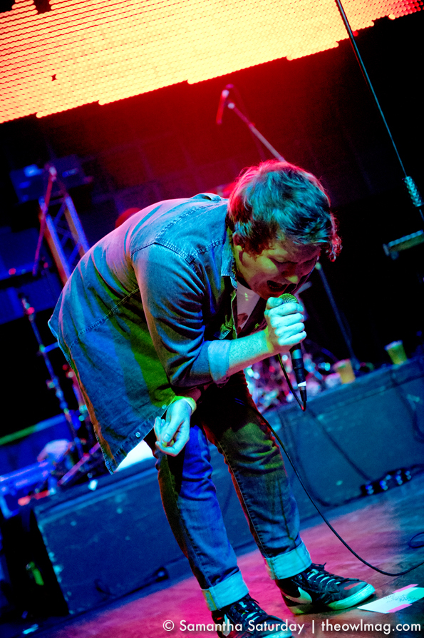 Los Campesinos! @ Yost Theater 10/17/2012