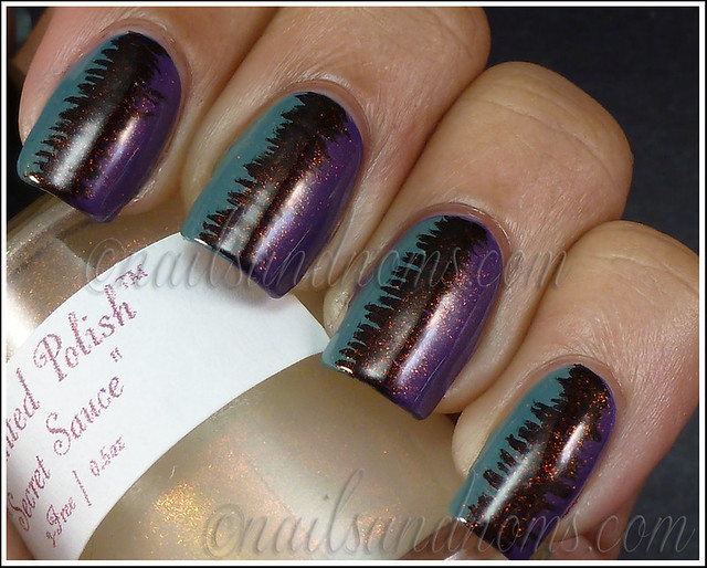 31DC2012 Day 6 Violet Nails - 7