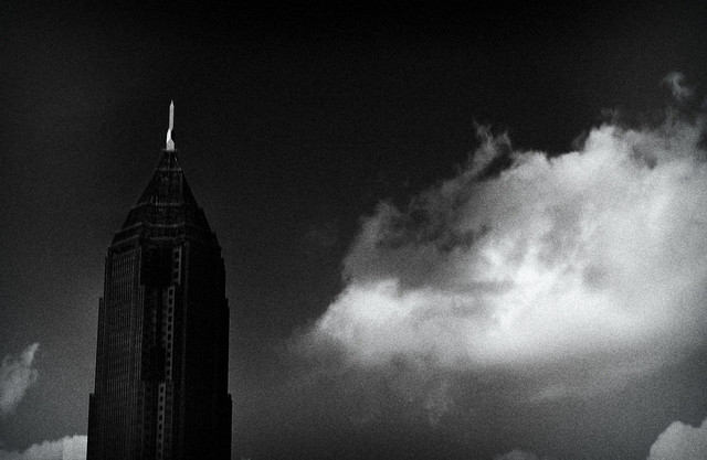 Bank of America Building vs. Cloud, Midtown Atlanta