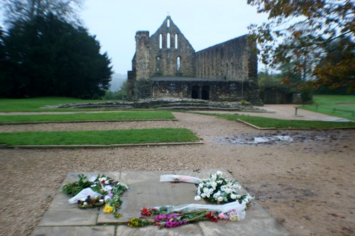 King Harold Memorial at Battle Abbey