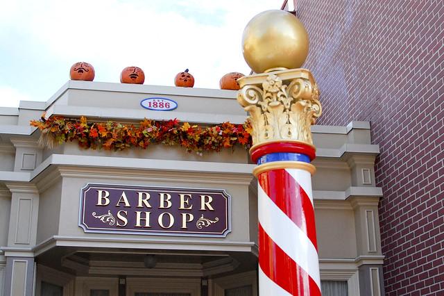 Magic Kingdom Barber Shop.