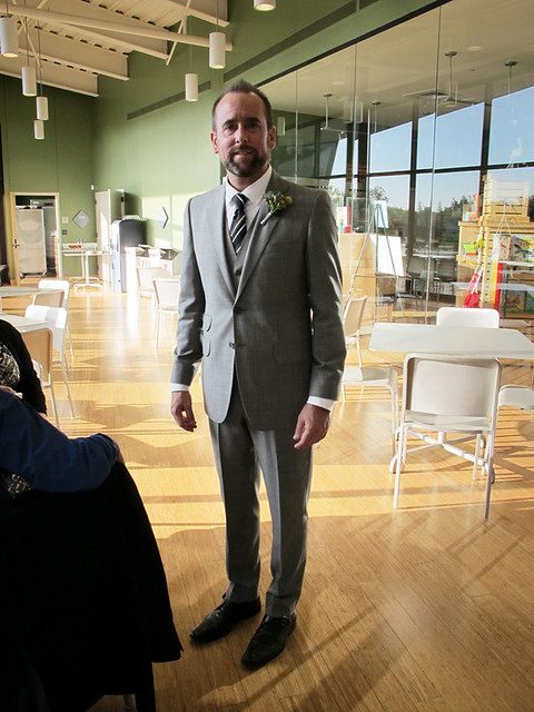 Jason In His Wedding Suit