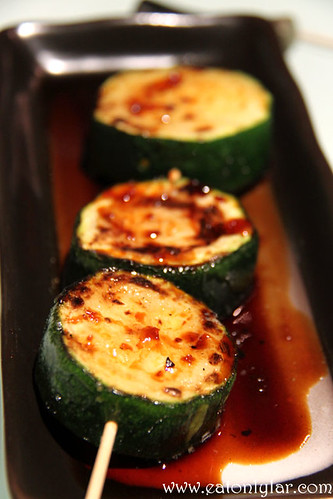 Zucchini with Butter, Yakitori Do
