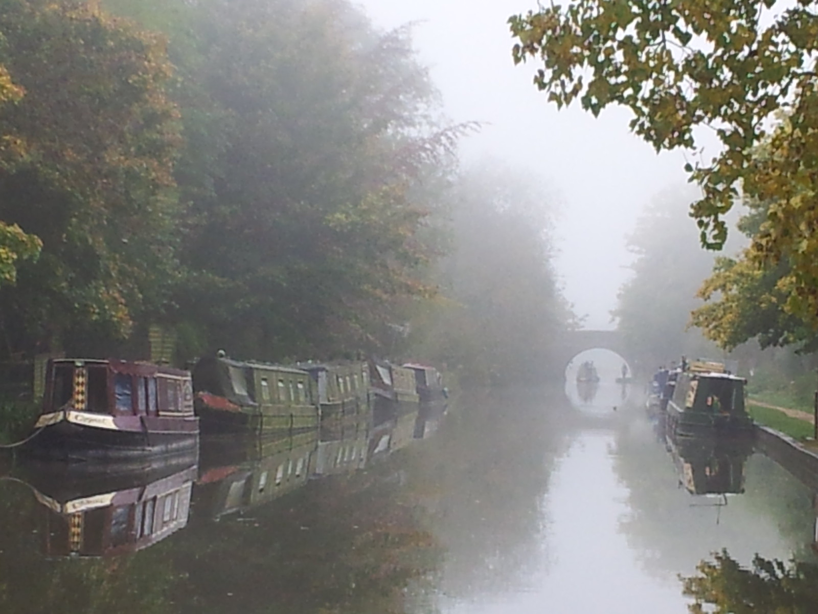 Misty Avon Canal