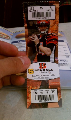 Bengals vs Steelers!