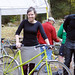 Hilary Jones and Her Mixte, French Fender Day by Lovely Bicycle!