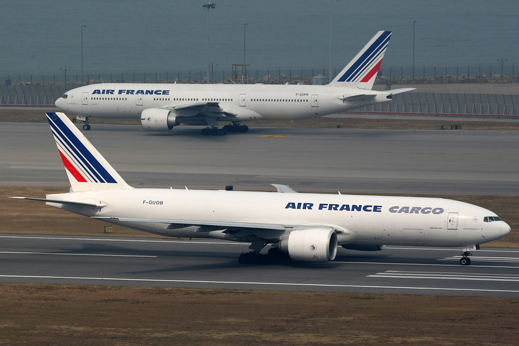F-GSPR - B772 - Air France