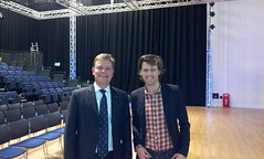 23/10/12 With David Lewis, Chairman Conservative Future, Uni of Kent