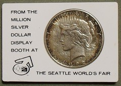 Million Dollar Display peace dollar