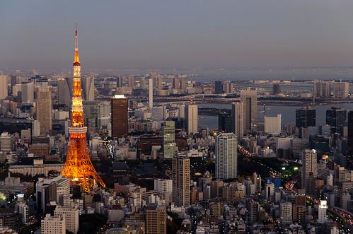 [フリー画像素材] 建築物・町並み, 都市・街, ビルディング, 塔・タワー, 東京タワー, 風景 - 日本, 日本 - 東京 ID:201210280600