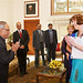 UN Women Executive Director Michelle Bachelet meets with President of India Shri Pranab Mukherjee