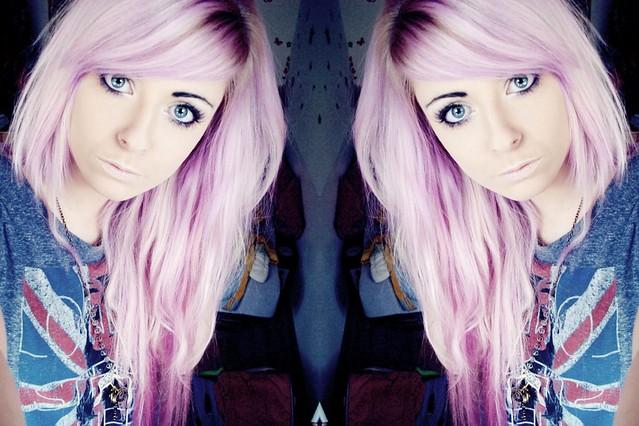 Bibi Barbaric lavender hair