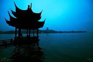 杭 . 集賢亭 . hangzhou . jixian pavilion . 杭州 . パビリオン by kon'nichiwa