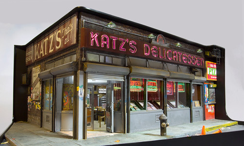 Alan Wolfson, Katz's Deli/Closing Time, 2012