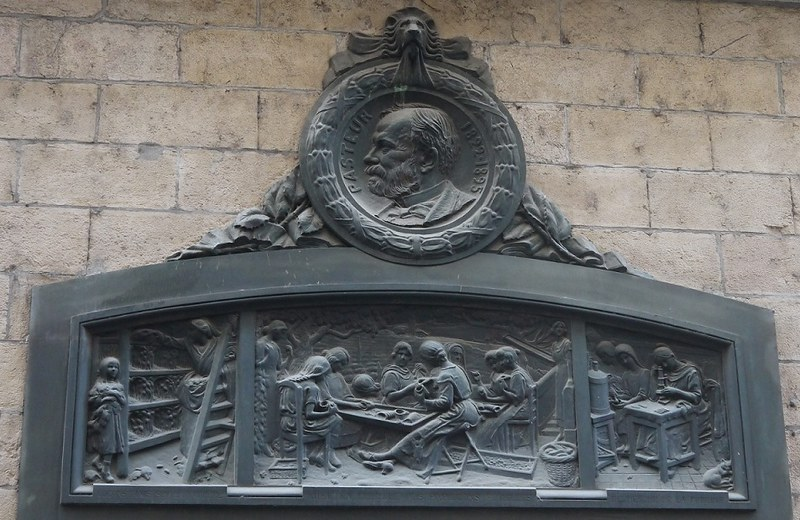 04 墙上的纪念牌 Pasteur