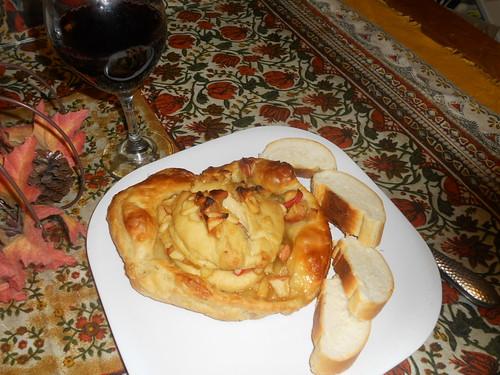 Vegan Brie en Croute