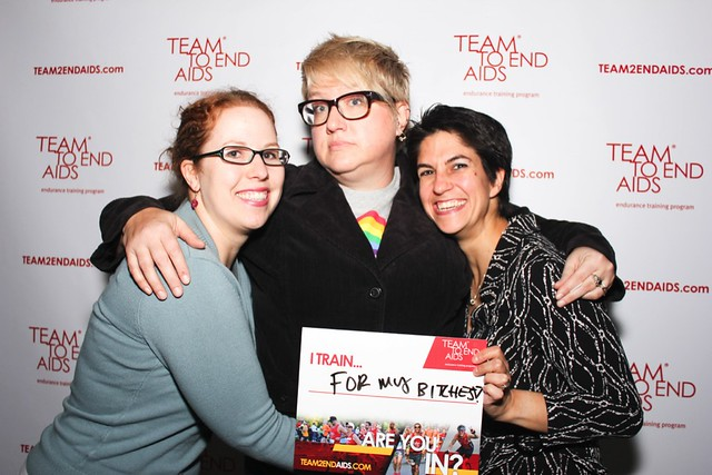 TEAM TO END AIDS (T2) Victory Party 2012