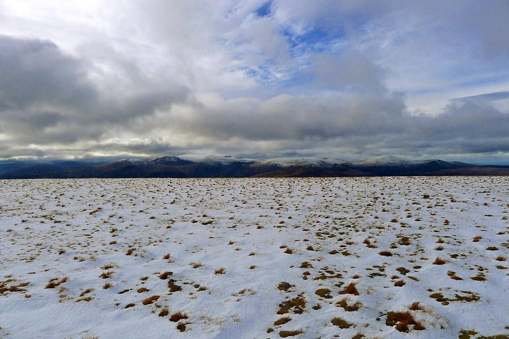Cairngorms from Beinn a' Bhuird