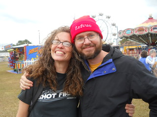 Alison and Trey at the fair
