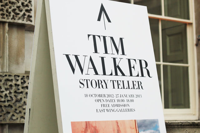 Tim Walker Story Teller Somerset House sponsored by Mulberry